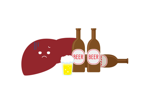 Liver and beer