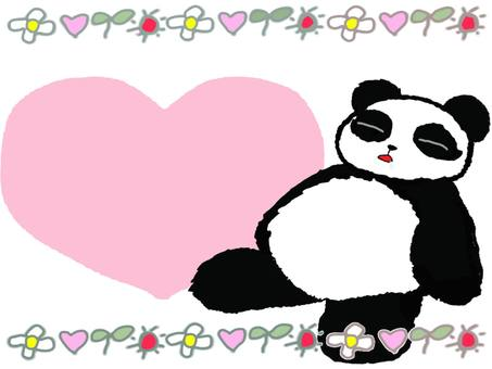 Drowsy panda