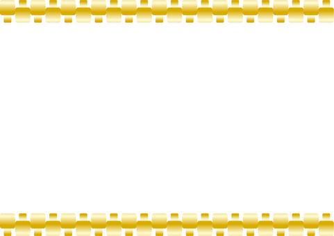 Frame - block metal frame