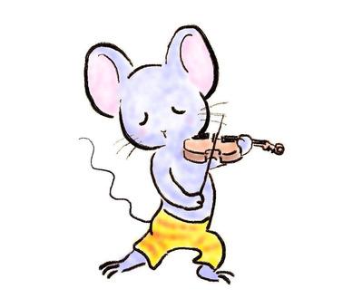 バイオリンねずみ22
