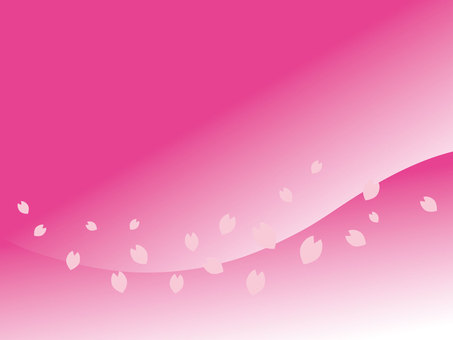 Spring cherry petal background