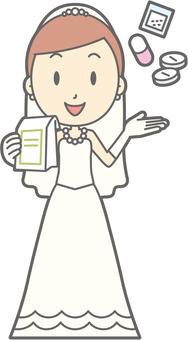 Bride dress - medicine - whole body