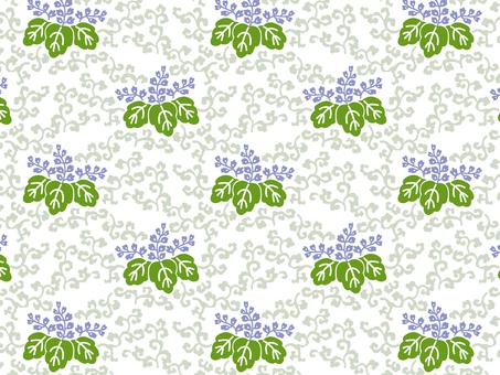 ai Tung leaf pattern · swatch