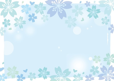 Sakura Background Stationery