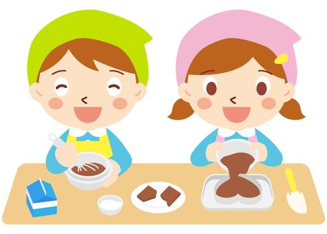 Chocolate making _ Children