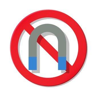 No magnet