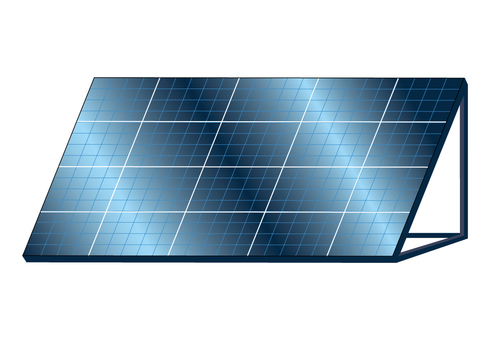 Solar panel / illustrator CS3