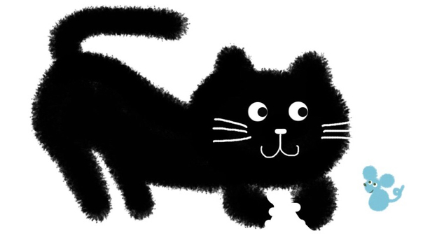Black Cat and Mouse