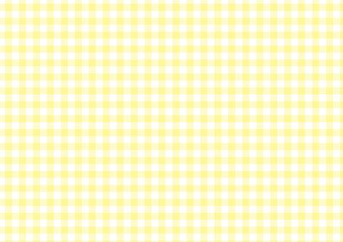 Gingham <pastel yellow>