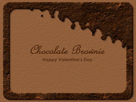 巧克力布朗尼框架鋸齒狀
