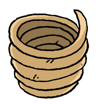 How to make Jomon pottery