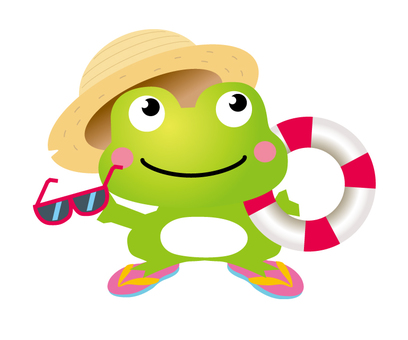 Summer of frog has come!