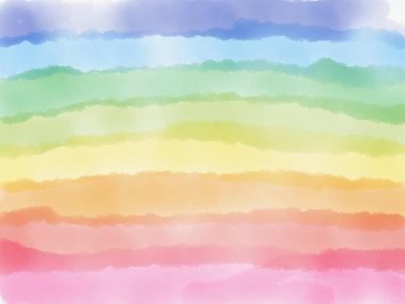 Water rainbow background