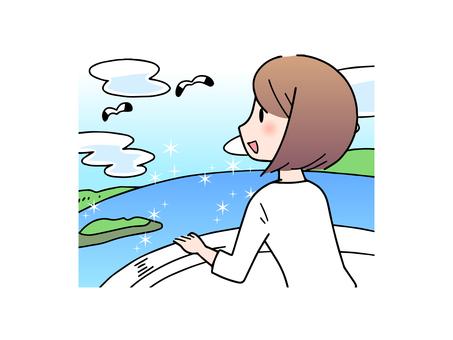 Ocean view (female)