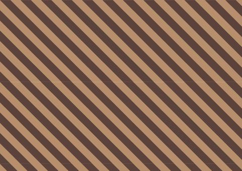Stripe ● Chic Brown