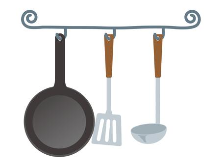 廚房的工具
