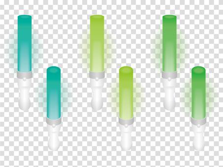 ペンライト緑系