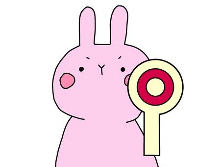 Usagi and circle 1 2