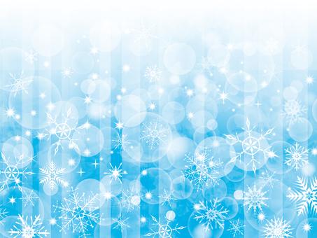 雪の結晶雪景色背景素材壁紙冬1月12月絵