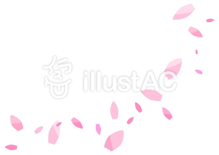 舞う花びらイラスト No 211937無料イラストならイラストac