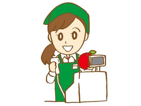 Super clerk (cashier)