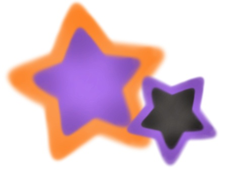 Halloween star set 1
