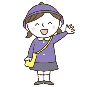 귀여운 어린이 원아 / 보육 / 유치원 / 제복