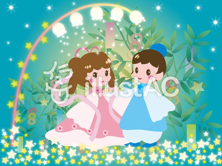 七夕・織姫と彦星