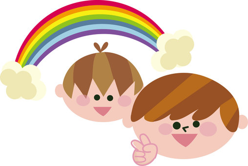 Illustration of a rainbow