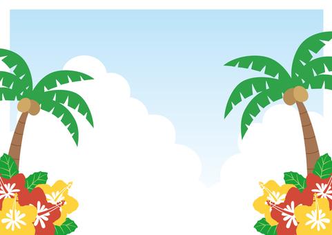 Tropical · Hawaii Frame