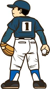 Shonen baseball pitcher 02
