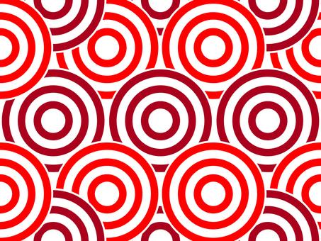 Swirl pattern _ red series