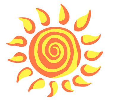 Sun_flaming round