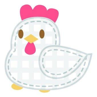 Chicken applique