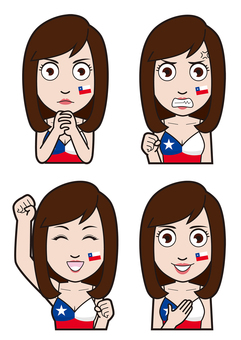 Chile representative supporter 2
