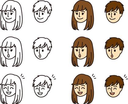 Male Female - Facial 01