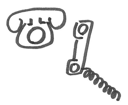 Telephone handset telephone