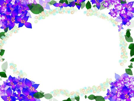 Hydrangea Frame 10