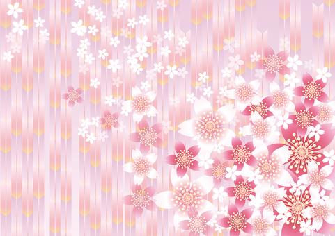 Sakura Flower & Pink Arrow 4
