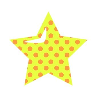 Star polka dots