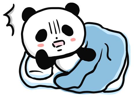 Overwhelmed panda