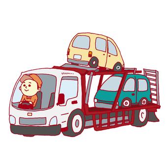 載有汽車的汽車(運輸車)
