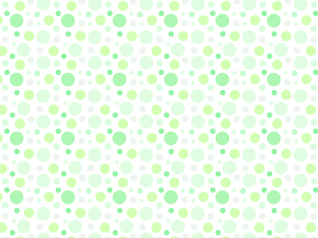 ai polka dot pattern with swatch background