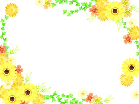 黄色い春の花04