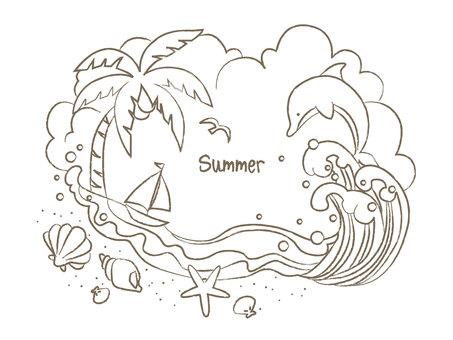 Summer frame line