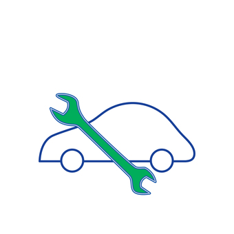 Car service icon 3 Pictogram