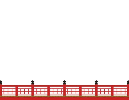 赤い橋_直線