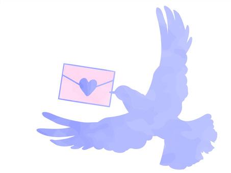 ハトとお手紙