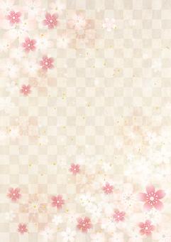 Sakura_Japanese paper_Vertical type 2428