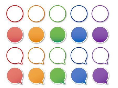 簡單的圓形框架